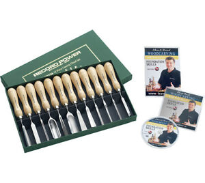Record Power RPCV12A Assorted Shape Shaping Carving Tool File Set