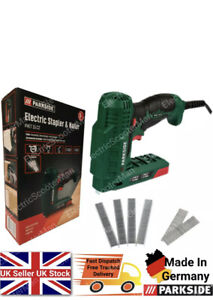 Parkside Lightweight and Compact Electric Stapler & Nailer