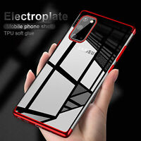 For Samsung Galaxy S20 FE 5G Phone Clear Case Shockproof Silicone TPU Thin Cover