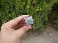 1PC Pure Carbon C Carved Element Periodic Table 25mm Cube High Purity 99.9%