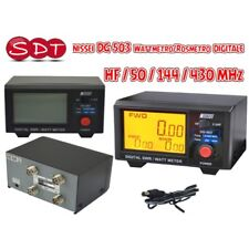 NISSEI DG-503 SWR-Messgerät - Leistungsmesser digital HF/50/144/430 MHz