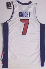 Brandon Knight #7 Detroit Pistons Kentucky Autographed Signed Adidas NBA Jersey