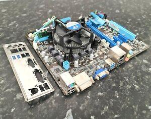 i5-2500K @3.70GHz 4GB Kingston DDR3 Asus P8H61-M LE/USB3 CPU Combo Works EG2809