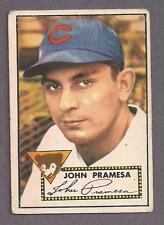 1952 Topps #105 John Pramesa, Chicago Cubs