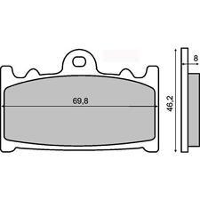 225101150 RMS pastillas de freno delantero KAWASAKIZZR 1100 GT (ZX 1100 D) 1994