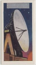 Goonhilly Downs Radio Telescope Telstar Satellite Vintage Ad Trade Card