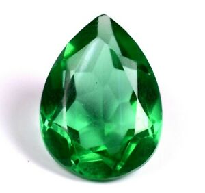 8.25 ct World Class Pear Natural Colombia Romantic Emerald Loose Gemstone A1623