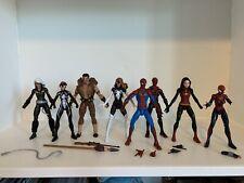 Marvel Legends Lot Spider-Man, Spider-Woman, Spider-Girl, Black Cat, Kraven