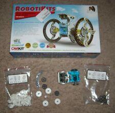 OWIKIT #MSK615 - 14 in 1 Educational Solar Robot Kit