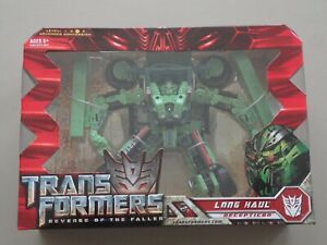 2008 Transformers Revenge Of The Fallen Voyager Class Long Haul Hasbro Sealed