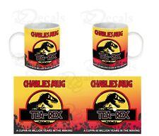 Tea Rex Jurassic Park T-rex Parody Funny Coffee Mug Tea Cup