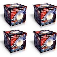 4x LED Hängelampe Camping Lampe Zeltlampe Zelt Lampion Leuchte Laterne Pavillon