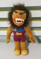 """AFL TOY 27cm Brisbane Lion's Bernie """"Gabba"""" Vegas plush mascot KORIMCO FAN TOY"""