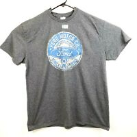 Ford Motor Co Mens Size XL Gray Delta Soft Short Sleeve Graphic T Shirt