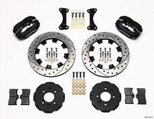 """Honda Civic,CRX,Del Sol Dynalite Front Big Brake Kit Wilwood,12"""" Drilled Rotors~"""
