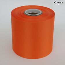 "4"" Wide Orange Ceremonial Ribbon for Grand Opening Ceremony 50 Yard Roll"