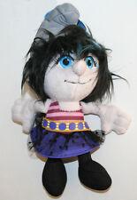 "2013 NEW THE SMURFS 2 Movie 8"" VEXY SMURF blue plush bean bag Toy Doll JAKKS"