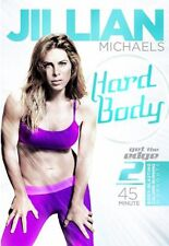 Cardio and Toning EXERCISE DVD - Jillian Michaels HARD BODY - 2 Workouts!