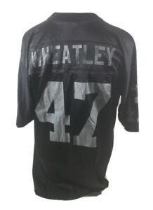 Vintage Puma Mens Jersey Size Large Las Vegas Raiders Football NFL 47 Wheatley