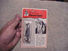 Vintage 70'S Nos Diamond Rattler Gray Swirl Model By Capt. Jim Strader'S
