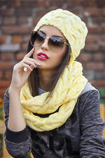 Hat and Snood Scarf  Set Lalo style