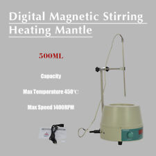 500ml 110V Electric Digital LCD Magnetic Stirring Heating Mantle 98-III-B-500