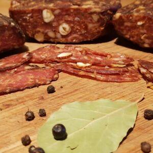 (€5.68/100g) Rustikale Salami Gewürzmischung Brett Salami einfach herzustellen