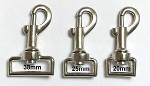Trigger Swivel Heavy Duty Metal Clips for Webbing Dog Lead Horse Rug Snap Hook