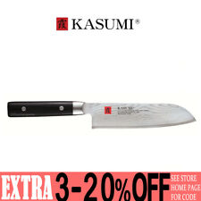 NEW Kasumi Damascus Santoku Knife 18cm 78208 PIN
