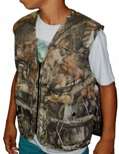 Redhead Youth Medium 10 Camo Advantage Timber Upland Hunting Vest Paintball 1E6