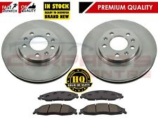 FOR CADILLAC CTS 3.6 03-07 FRONT BRAKE DISCS DISC & PADS PAD 88964102 88967250