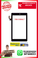 "TOUCH SCREEN Archos 70b Cobalt Tablet 8G VETRO Digitizer 7,0"" Nero"