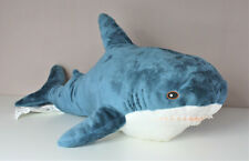 IKEA BLAHAJ Hai Haifisch blau weiß ca. 100 cm Plüsch shark toy toj