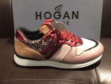 HOGAN JUNIOR Sneaker R261 glitter Rosa SCONTO 50%