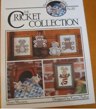 CRICKET COLLECTION #22   -   CROSS STITCH LEAFLET