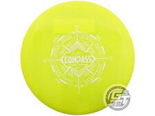 New Latitude 64 Opto Compass 176g Yellow White Stamp Midrange Golf Disc