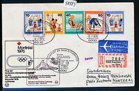 98889) LH Olympiade SF Reco ! Frankfurt - Montreal 9.7.76, So-Label Satz Sport