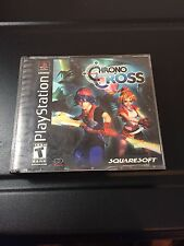 Chrono Cross (Sony Playstation 1) Ps1 Complete Black Label FAST FREE SHIPPING