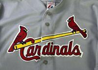 Majestic St. Louis Cardinals Baseball Game Jersey MLB Mens Size 2XL
