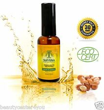 SMYRNA 100% Pure Moroccan Argan Oil Hair Treatment for Damaged Hair 2oz. (60ml)