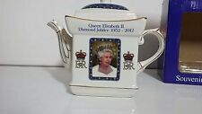 New in Box Queen Elizabeth II Diamond Jubilee teapot
