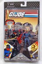 2008 GI Joe RAH Iron Grenadier & Destro Figure & Comic 2 Pack MOC Hasbro