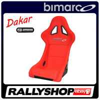 BIMARCO Seat DAKAR FIA Racing Red WITH HOMOLOGATION - CHEAP AND FAST DELIVERY