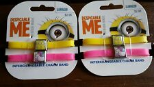 Despicable Me Interchangeable Charm Band Minion Unicornicopia ROXO New