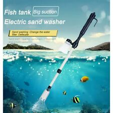 Aquarium Cleaner Electric Fish Tank Clean Vacuum Water Suction Changer Pump