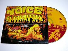 cd-single, Voice Of The Beehive - I Think I Love You, 2 Tracks, Australia, Cards