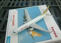 herpa pegasus boeing 737-800 1:500 nr 505628 in ovp aus sammlung top