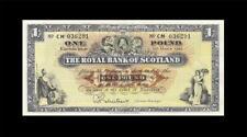 1.3.1966 ROYAL BANK OF SCOTLAND 1 POUND (( aUNC ))