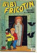 Bibi Fricotin n°53 Et le secret de la momie Lacroix EO 1962  Ed. SPE TBE