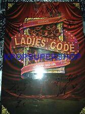 Ladies' Code Mini Album Vol. 1 - Code#01 Bad Girl CD Autographed Promo Good Cond